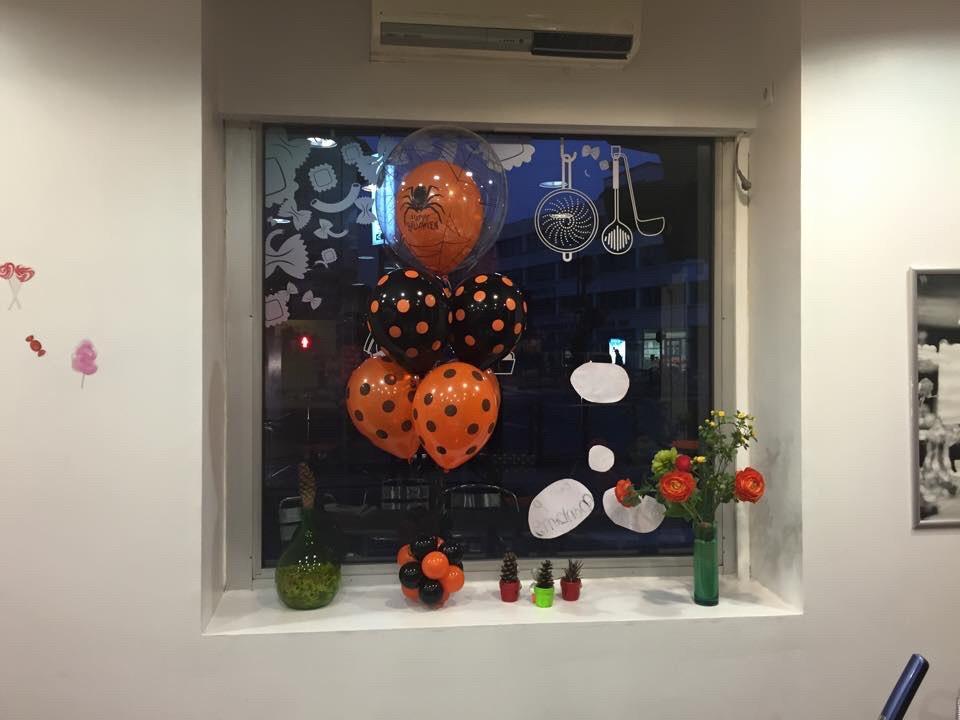 Décoration vitrine Merignac