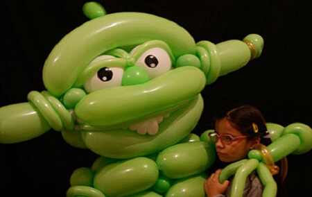 Sculpture de ballon magie