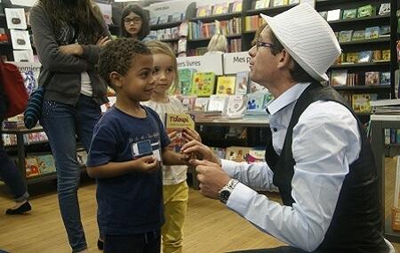 magicien enfant magie
