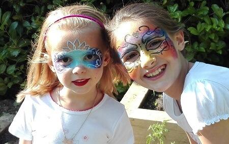 maquillage enfant artistique face painting
