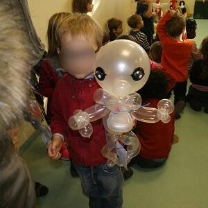 fantome en ballons