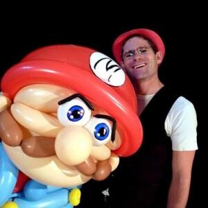 Ballon Mario géant